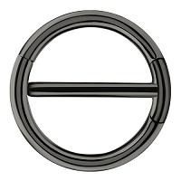 Nordik Piercing: Boutique en Ligne: Piercing téton noir à charnière