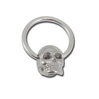 Nordik Piercing: Boutique en Ligne: Anneau tête de mort, ring skull, crâne