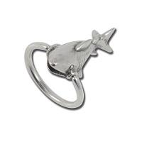 Nordik Piercing: Boutique en Ligne: Anneau requin, ring shark