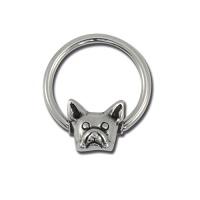 Nordik Piercing: Boutique en Ligne: Anneau chien, ring CBB dog
