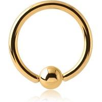 Nordik Piercing: Boutique en Ligne: Anneau doré du 1,2 au 2,5 mm