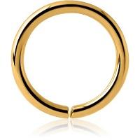 Nordik Piercing: Boutique en Ligne: Anneau doré flexible