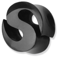 Nordik Piercing: Plug en corne Piercing d`oreille `S` de 6 à 24 mm