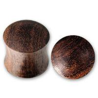 Nordik Piercing: Plug piercing oreille bois du 2 au 34 mm