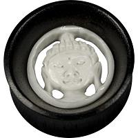 Nordik Piercing: Boutique en Ligne: Plug Bouddha de 20 à 30 mm