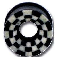 Nordik Piercing: Boutique en Ligne: Plug 8 à 18 mm damier
