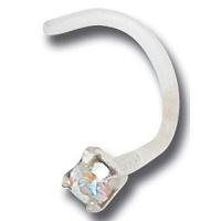 Nordik Piercing: Boutique en Ligne: Stud BioFlex cristal couleurs