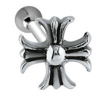 Nordik Piercing: Micro-barbell piercing tragus croix