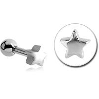 Nordik Piercing: Boutique en Ligne: Micro-barbell étoile