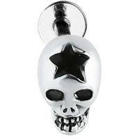 Nordik Piercing: Micro labret crâne étoile piercing 1,2 mm