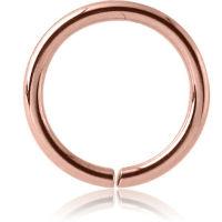 Nordik Piercing: Anneau continu piercing or rose