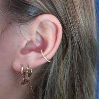 Nordik Piercing: piercing lobes, conch